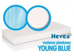 Materac piankowy Hevea Young Blue 200x90 (Natural)