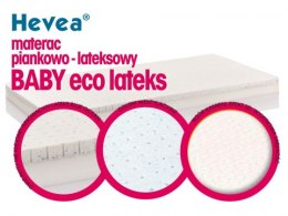 Materac z lateksem Hevea Baby Eco Lateks 140x70 (Natural)